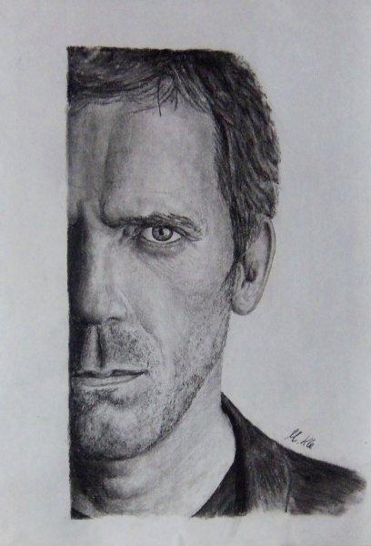Hugh Laurie by AlexMik